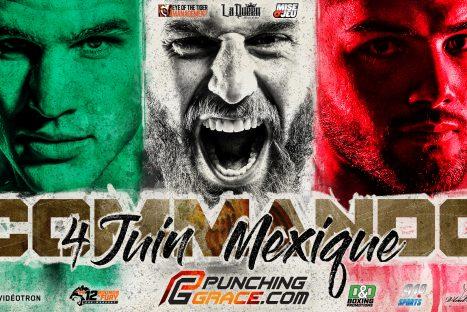 Commando 5 – Mexique David Lemieux, Simon Kean et Erik Bazinyan
